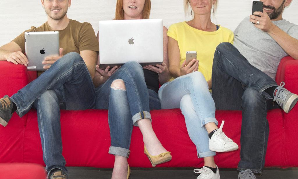 4 mensen technologie