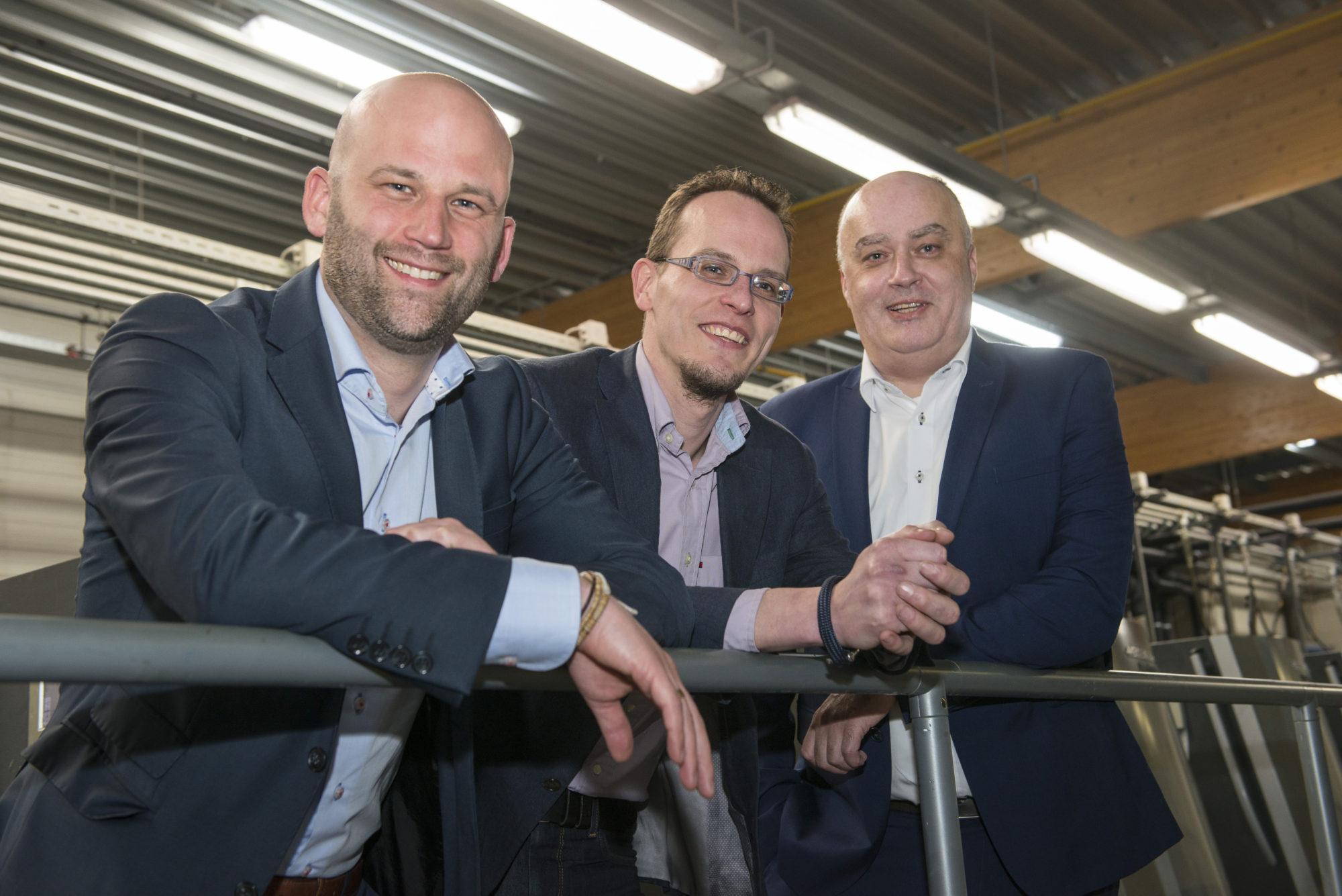 Trois experts ICT viennent renforcer notre direction