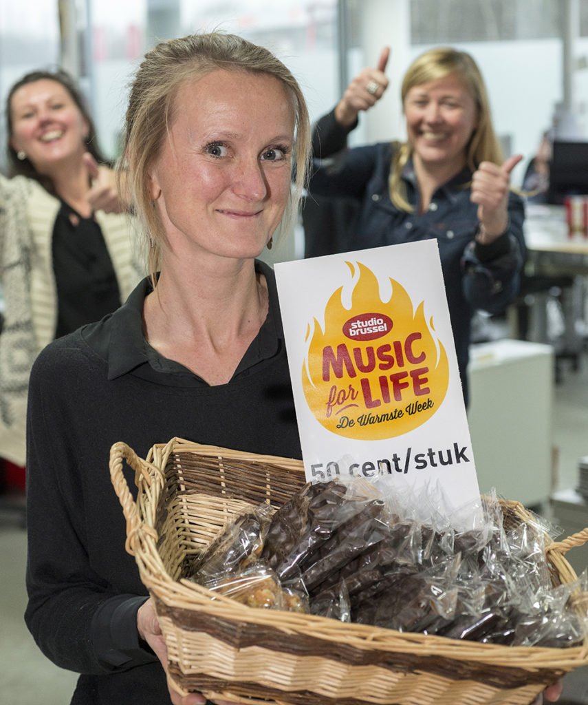 Music for life de warmste week