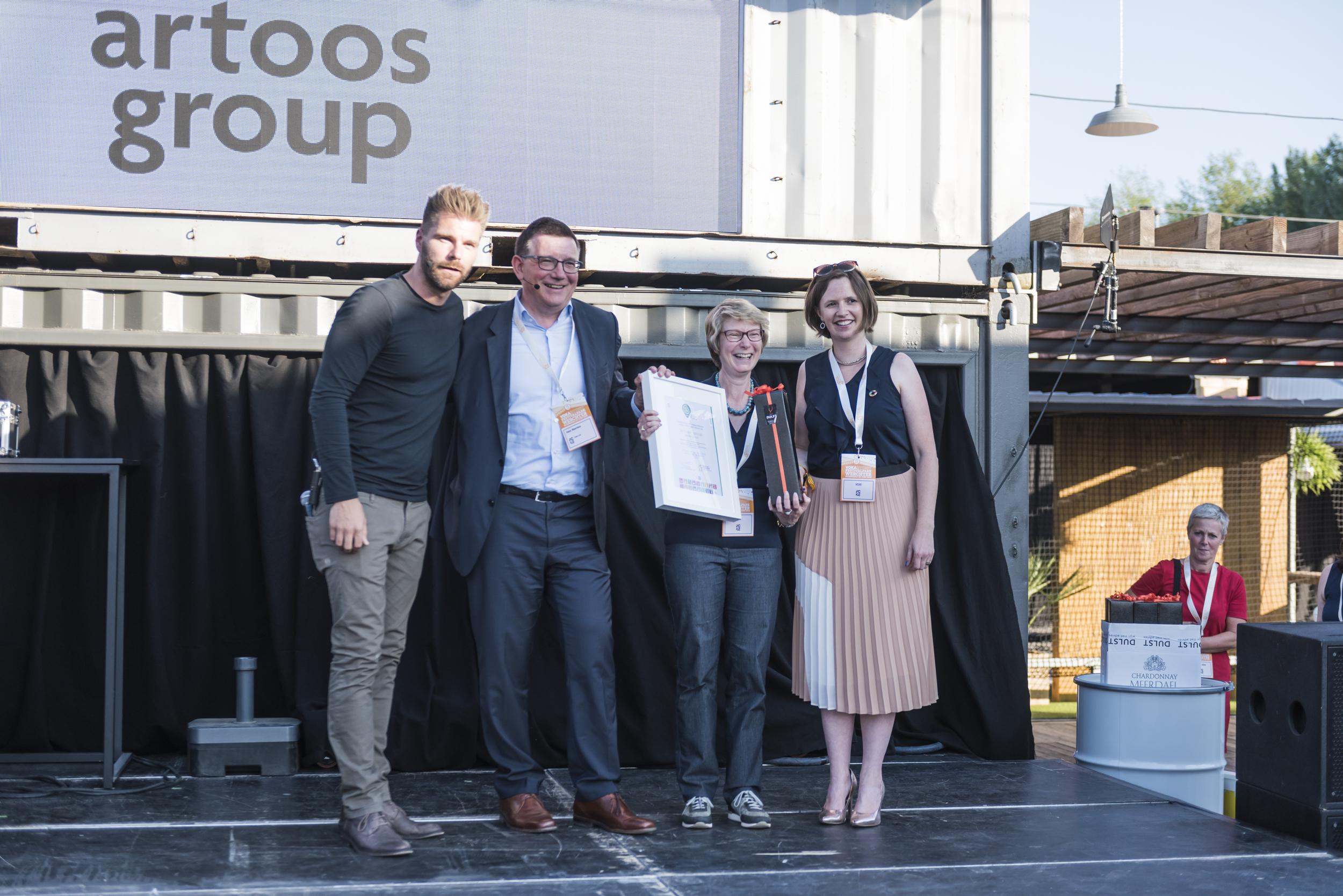 artoos group ontvangt Voka Charter Duurzaam Ondernemen